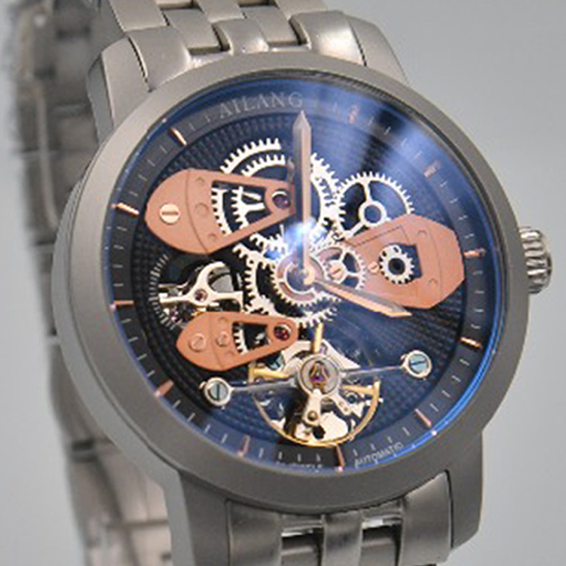 9d28649abce4 Detail Feedback Questions about Hot fashion luxury AILANG top brand reloj  Swiss gear skeleton diesel watch automatic mechanical watch man diver watch  ...