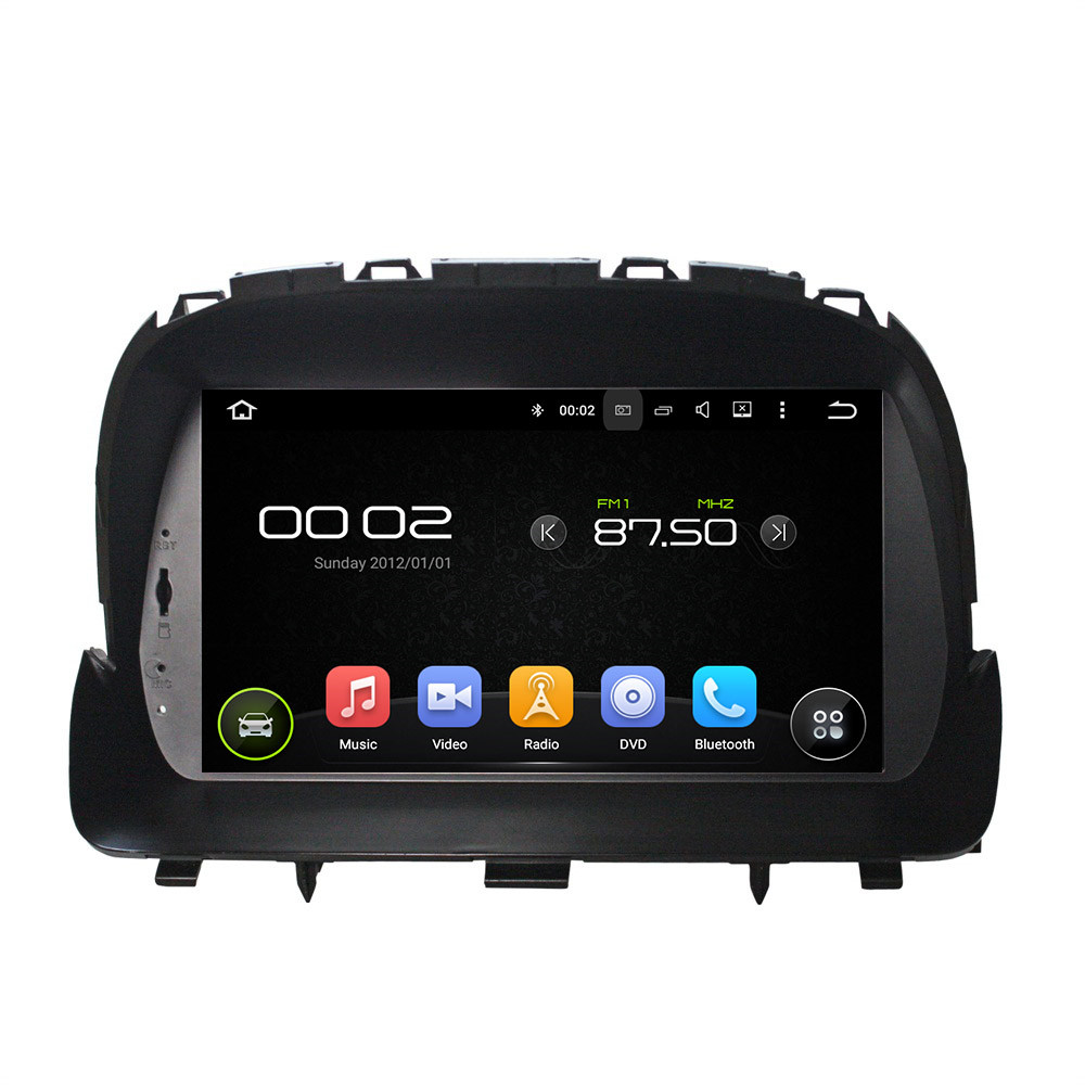 1024*600 Android 5.1 4 Core Steering Wheel Control Car DVD Player In Dash 2 Din Car Radio GPS Navi For Opel MOCCA 2012-2015