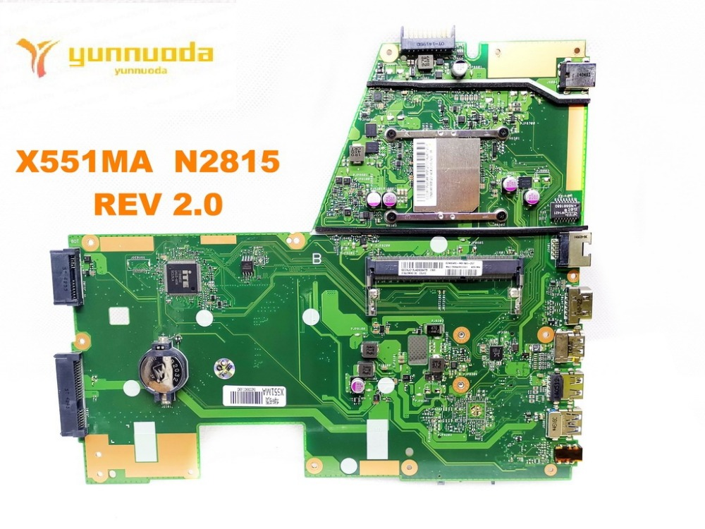 Original for ASUS X551MA  laptop motherboard X551MA  N2815   REV 2.0 tested good free shippingOriginal for ASUS X551MA  laptop motherboard X551MA  N2815   REV 2.0 tested good free shipping