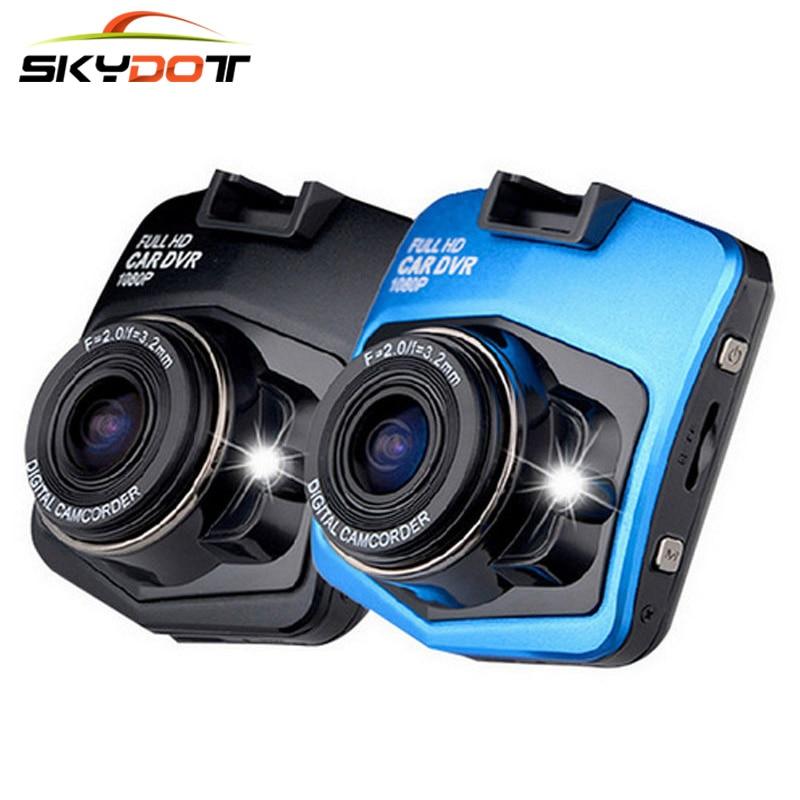 imágenes para SKydot Mini Video Recorder Cámara Del Coche DVR Dash Cam Registrador Dual de la Lente Full HD 1080 P G-sensor de Visión Nocturna Sensor de la Videocámara DVR