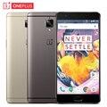 "Оригинал Oneplus 3 T A3010 Сотовый Телефон RAM 6 ГБ ROM 128 ГБ Snapdragon 821 Quad Core 5.5 ""Android 6.0 16MP Отпечатков Пальцев NFC Смартфон"