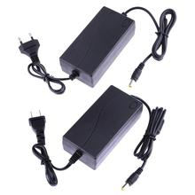 ALLOYSEED 19V 2.1A AC na DC konwerter zasilacz 6.5 6.0*4.4mm do monitora LG zasilanie ue lub US wtyczka do telewizora LCD nawigacja GPS