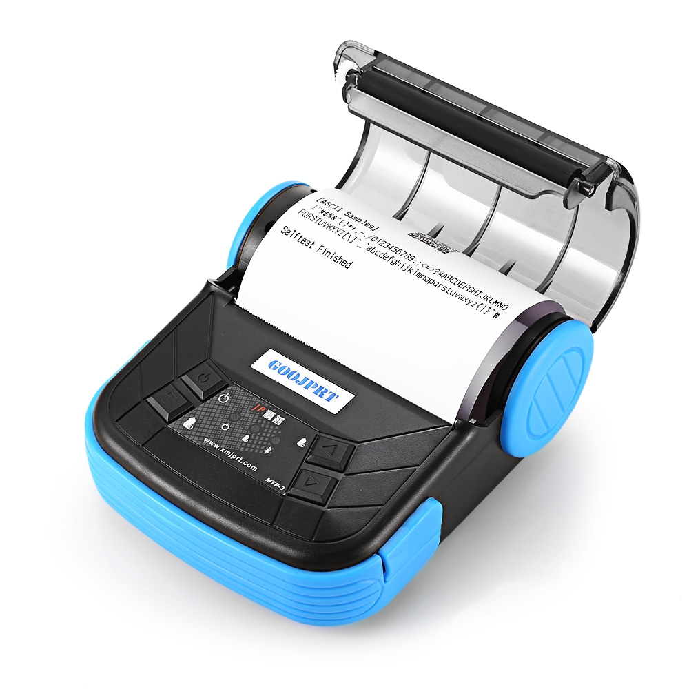 Exquisite Lightweight Design EU Plug Printer JP MTP 3 Portable 80mm Bluetooth 2 0 Android Thermal