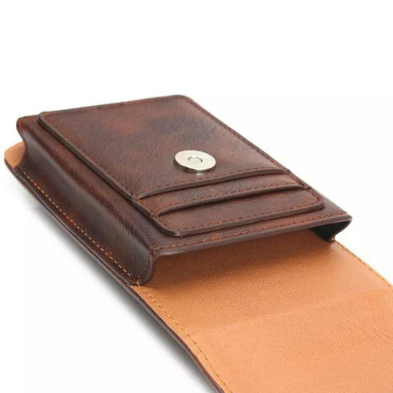 Belt Clip Vertical Holster Pouch Case Cover Cell Phone For <font><b>Ginzzu</b></font> S5050 S5040 S5140 <font><b>ST6040</b></font> Flycat Optimum 5501 Optimum 5004 image