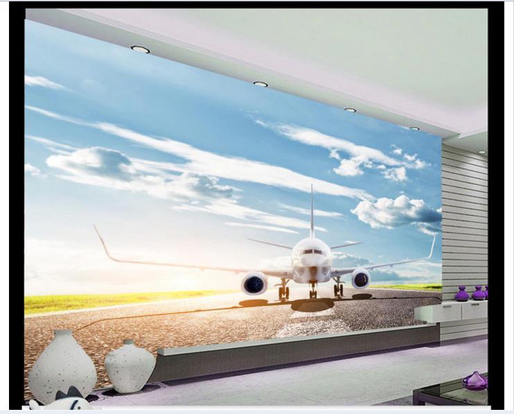 Customized 3d Wallpaper 3d Wall Murals Wallpape Sunglow Between