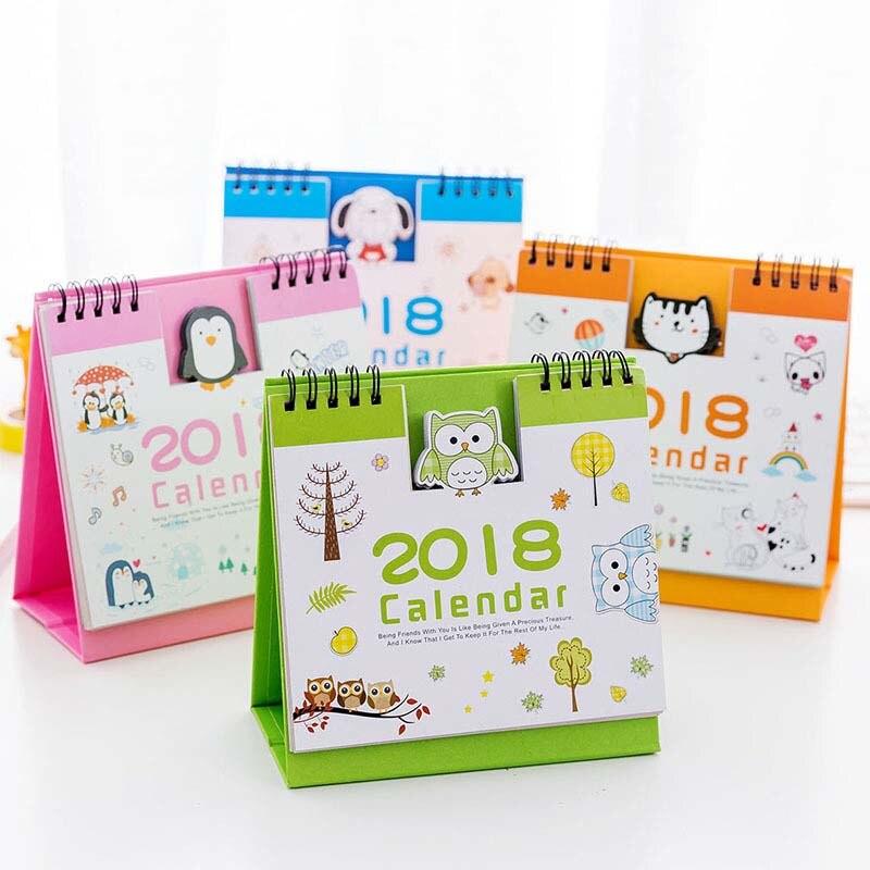 2018 New Year Cute Cartoon Animal Pattern Desk Desktop