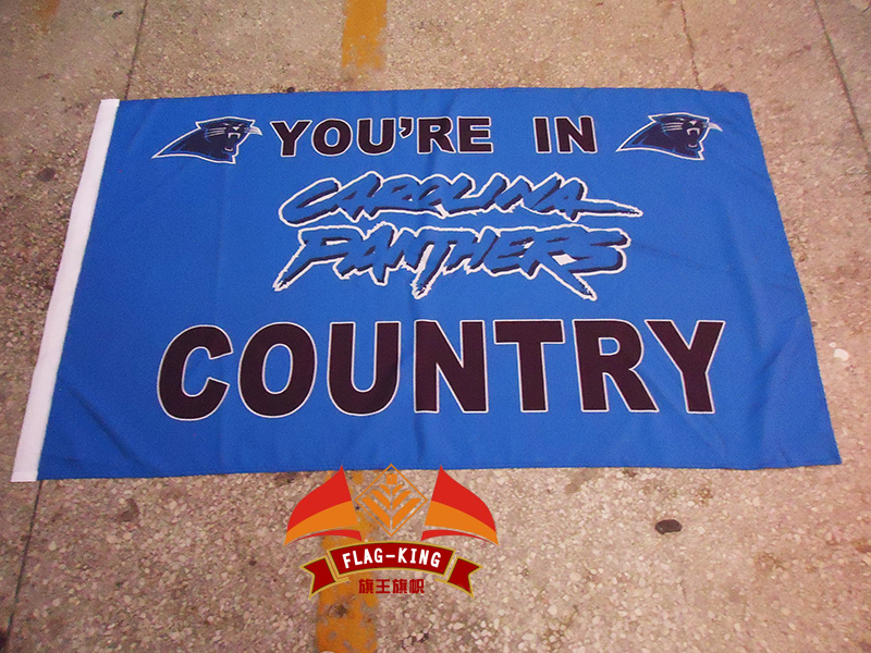 You are in Carolina Panthers Rugby helmet polyester flag,football helmet banner,90*150 CM flagking brand