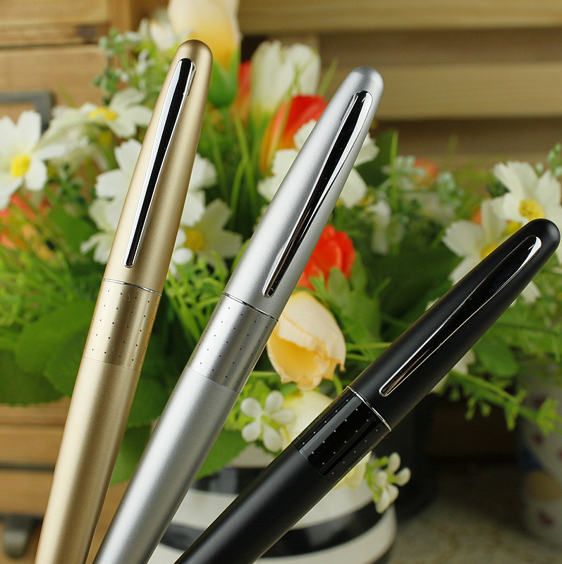 Pilot baile 88g croquis fountain pen calligraphy fountain pen metal pen italic nib art fountain pen arabic calligraphy black pen line width 1 1mm to 3 0mm