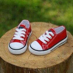 2017 crianças sapatos de lona esporte respirável meninos tênis marca crianças sapatos para meninas jeans denim casual criança sapatos lona plana