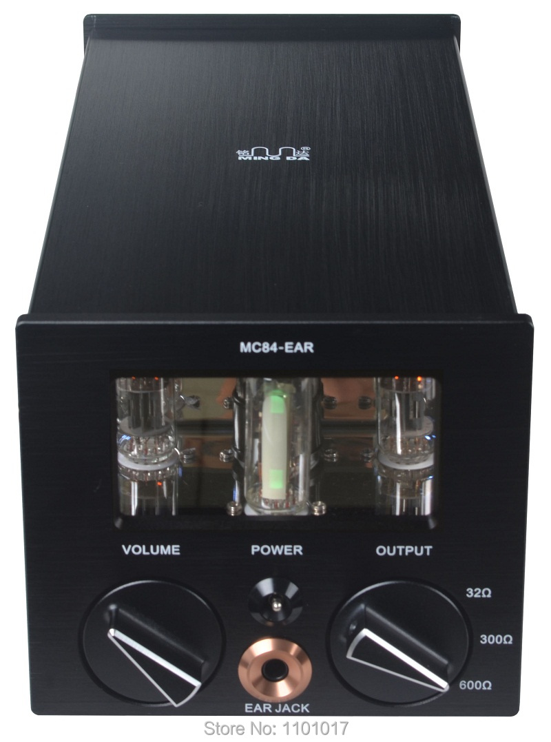 Meixing MingDa MC84-EAR tube headphone amplifier HIFI EXQUIS Classe A lamp headset & USB PC decoder amp appj pa1502a tube headphone amplifier hifi exquis 6n4 12ax7 6p6p 6v6 lamp headset amps