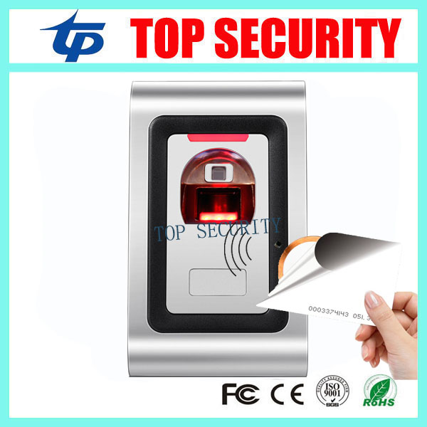 New arrived M80 fingerprint and RFID card access control system 1000 users metal biometric fingerprint door access controller m80 fingerprint and rfid card access controller standalone biometric fingerprint door access control system with card reader