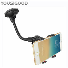 Car Phone Holder Flexible 360 Degree Adjustable Car Mount Mobile Phone Holder For Smartphone Support GPS Guitar Phone Holder creative f1 racing car style adjustable support holder for mobile phones green