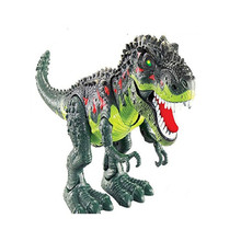 Get more info on the 2019 Kids Toy Walking 30CM T-Rex Dinosaur Toy Figure With Lights & Sounds Baby Lifelike  Doll simulation Real Movement F323