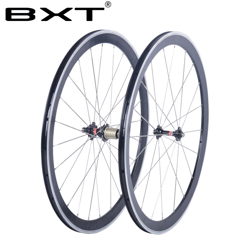 BXT Road Wheels 700C Front 24/38/50/60mm Rear 38/50/60/88mm Tubular And Clincher Wheelset With R36 Hub стоимость