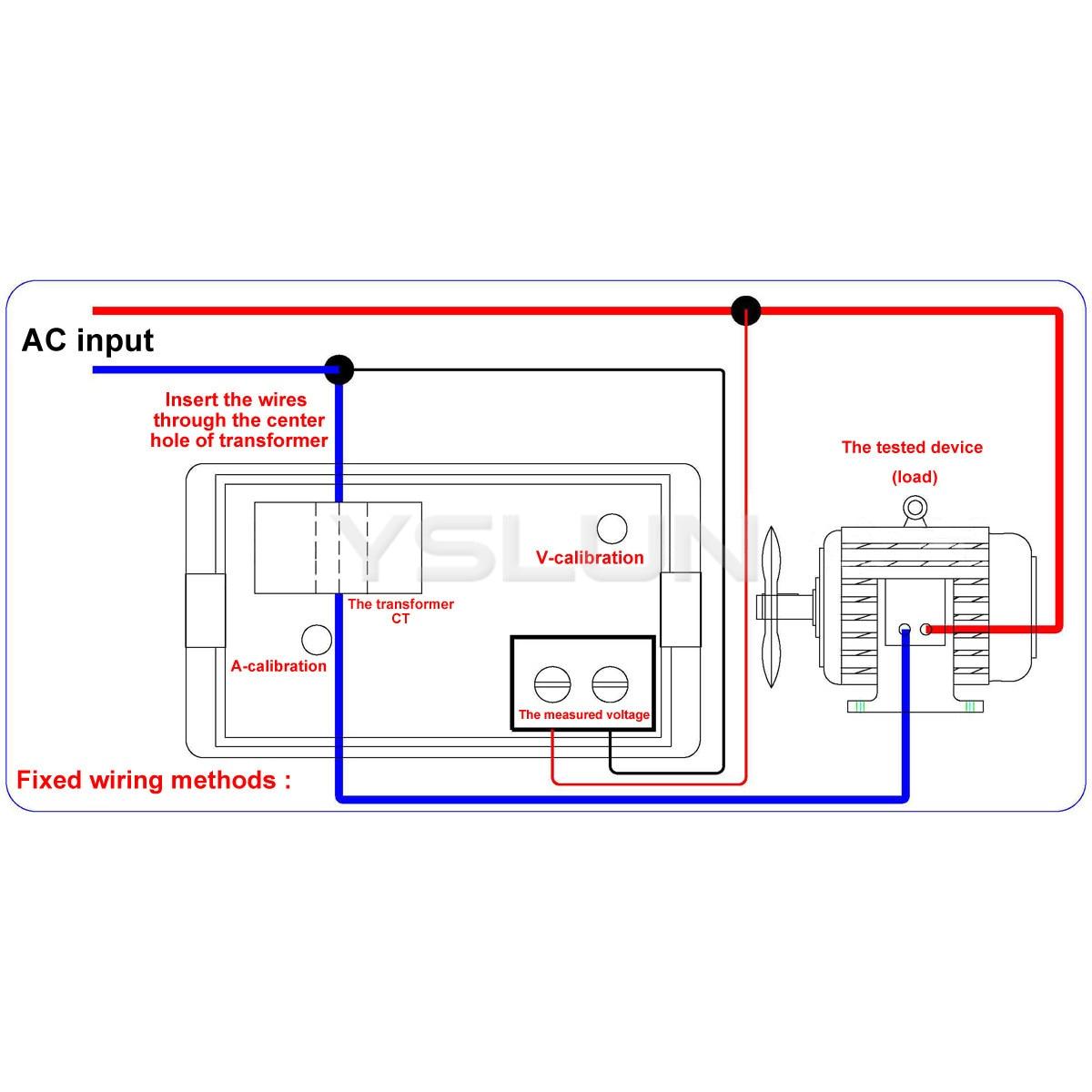 Digital Panel Meter    Wiring       Diagram         Wiring    Library