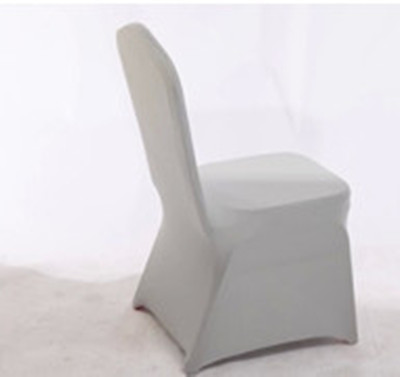Gray Chair Covers Hotel Chair Cover Cheap Wedding Lyca Chair Seat Cover  Outdoor Banquet Dining Grey