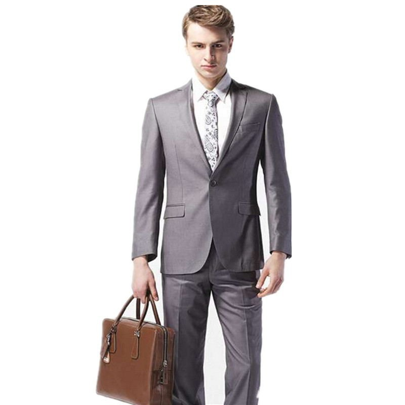 Popular Grey Suit Summer Wedding-Buy Cheap Grey Suit Summer ...