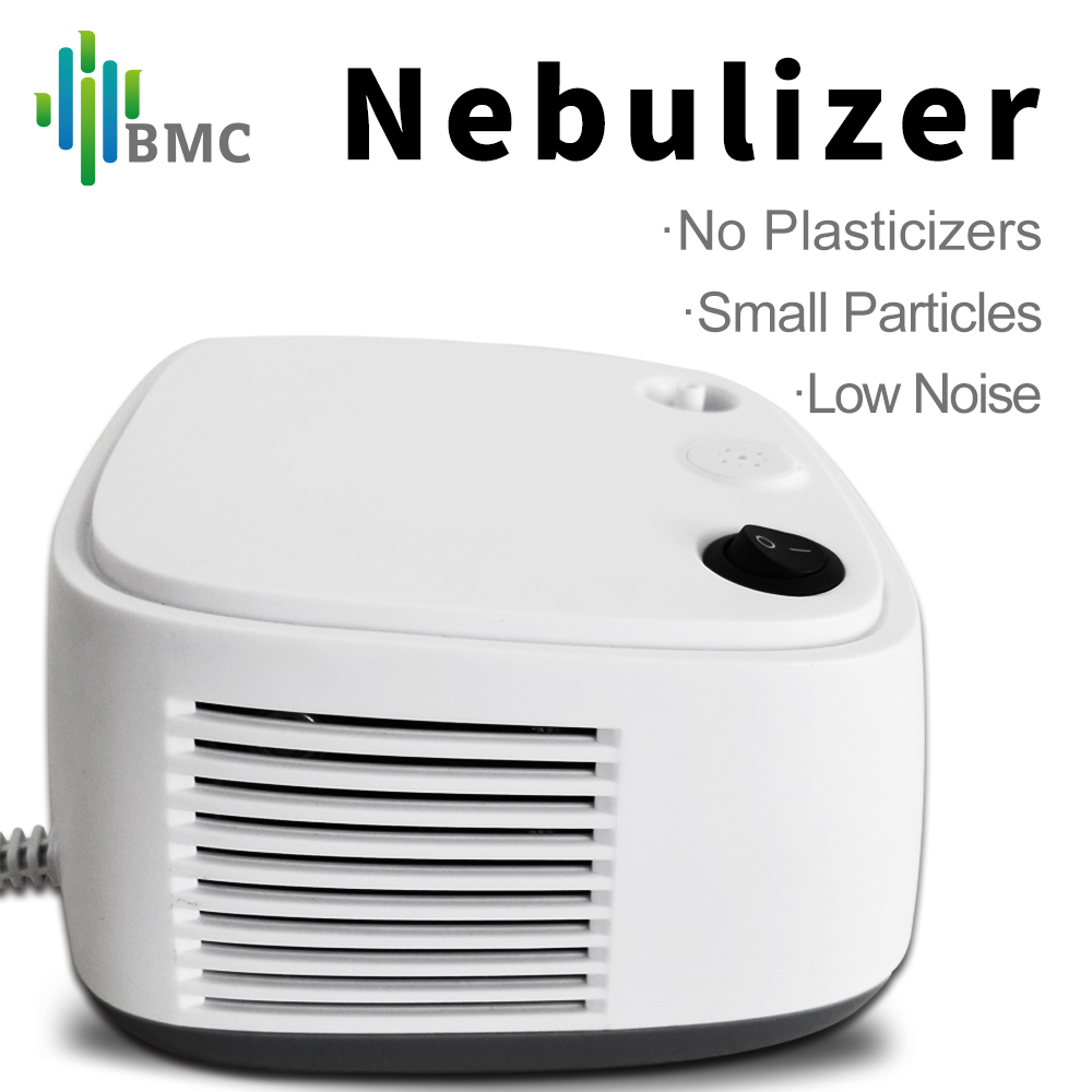 BMC Portable Asthma Inhaler Compress Nebulizer Therapy Compact Vaporizer & Automizer Children Adult Health Care Steaming Device portable handheld inhaler nebulizer usb personal steam mist healthy therapy steaming devices nose facial care tools