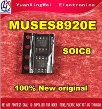 Livraison gratuite 5 pièces/100% nouveau Original MUSES8920E MUSES8920 SOP 8