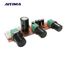 AIYIMA NE5532 لهجة مكبر للصوت Preamplifier LM1036 حجم لوحة تحكم AD827 OP AMP قوة واحدة Preamp حجم لهجة EQ التحكم