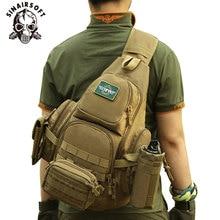 SINAIRSOFT 14iches Laptop Molle Military Backpack Men Nylon Sports Bag Shoulder Sling Waterproof Men's Travel Tactical Backpack