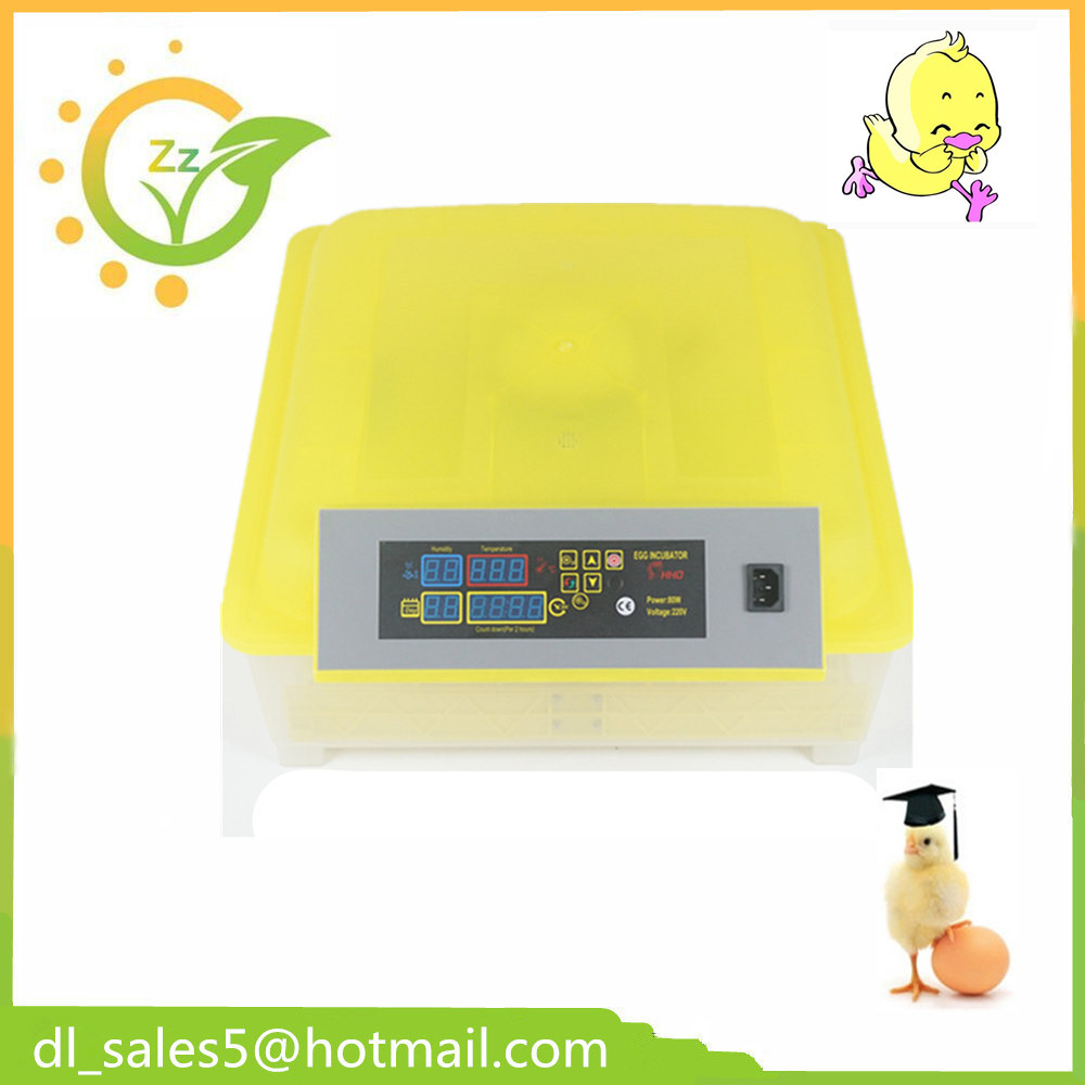 Fully Automatic Egg Incubator Mini Hatchery Machine For Hatching 48 Chicken Duck Quail Poultry Eggs ce certificate poultry hatchery machines automatic egg turning 220v hatching incubators for sale