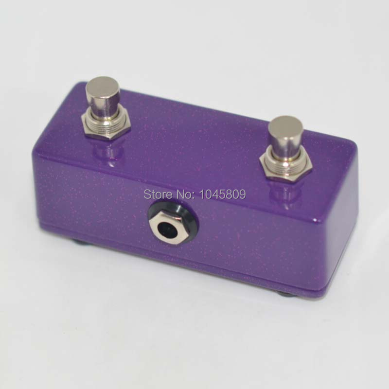 new guitar pedal moment foot switch dual 2 channel purple footswitch amplifier for guitar in. Black Bedroom Furniture Sets. Home Design Ideas