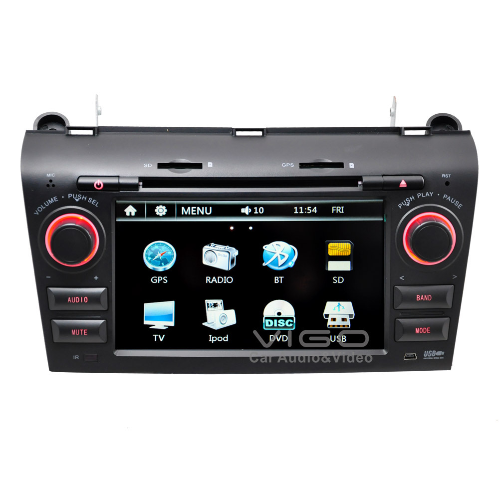 auto stereo gps navigation for mazda 3 2003 2009 radio dvd. Black Bedroom Furniture Sets. Home Design Ideas