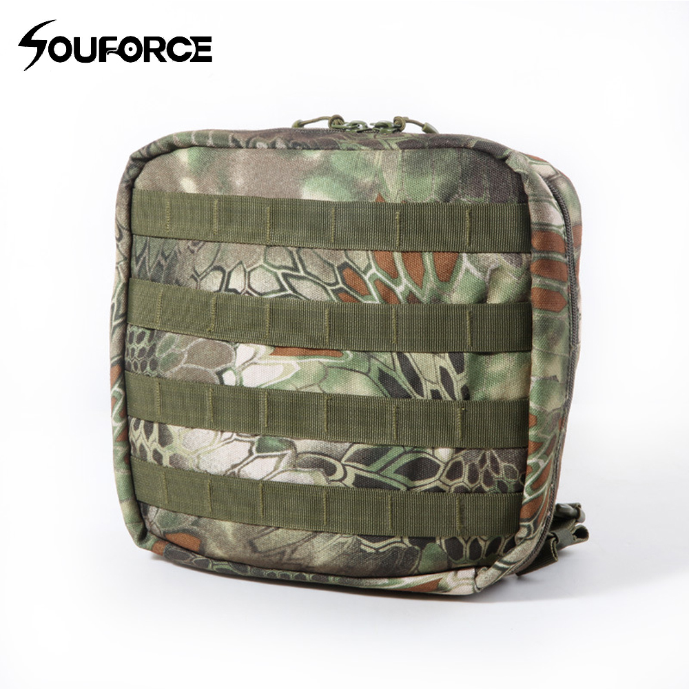Python Camouflage Multi function Molle Pouch Tactical Package Toolkit Waterproof Tactical Backpack Nylon Sling Pouch