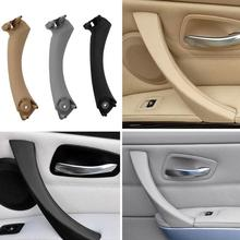 VODOOL Right/Left Car Inner Door Panel Handle Pull Trim Cover for BMW E90 3-Series Sedan Inner Door Panel Handle Pull Trim Cover vodool 4pcs set auto car interior inner door handle pull carrier covers 4 door front rear pull handle covers for bmw f01 f02