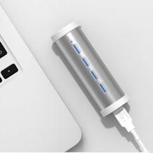 Высокая Скорость 4 Порты USB HUB разветвитель USB 3.0 адаптер для Тетрадь/Планшеты компьютера периферийные устройства