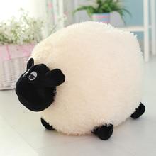 2 Styles 25/30/40cm Cartoon Sheep Shaun Stuffed Plush Toys Plush Kawaii Cotton Animal Sheep Dolls Toys Gifts For Kids White Gray все цены