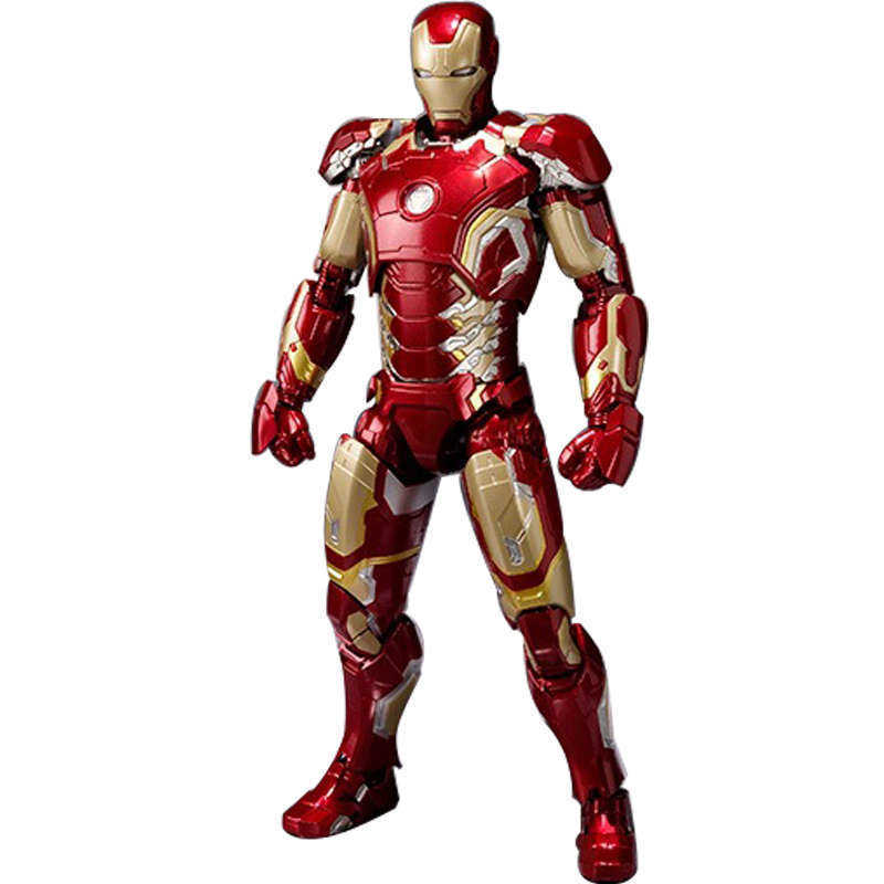 16cm The Avengers 2 Iron Man MK43 Mark 43 Action Figure Iron Man Doll PVC ACGN figure Toy Collection Model Toy Gift Brinquedos фигурка planet of the apes action figure classic gorilla soldier 2 pack 18 см