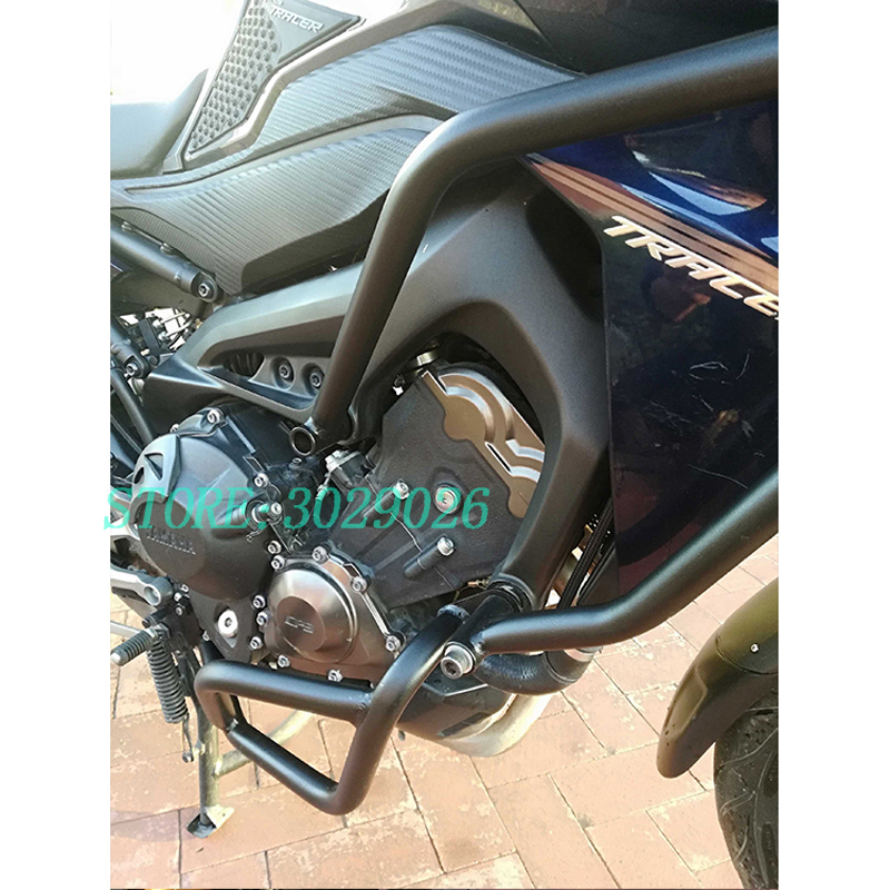 For Yamaha MT-09 FZ-09 FJ-09 MT09 TRACER 2014-2016 Motorcycle Motorbike Front Engine Guard Crash Bars Frame Protector Bumper New crash bar mt 09