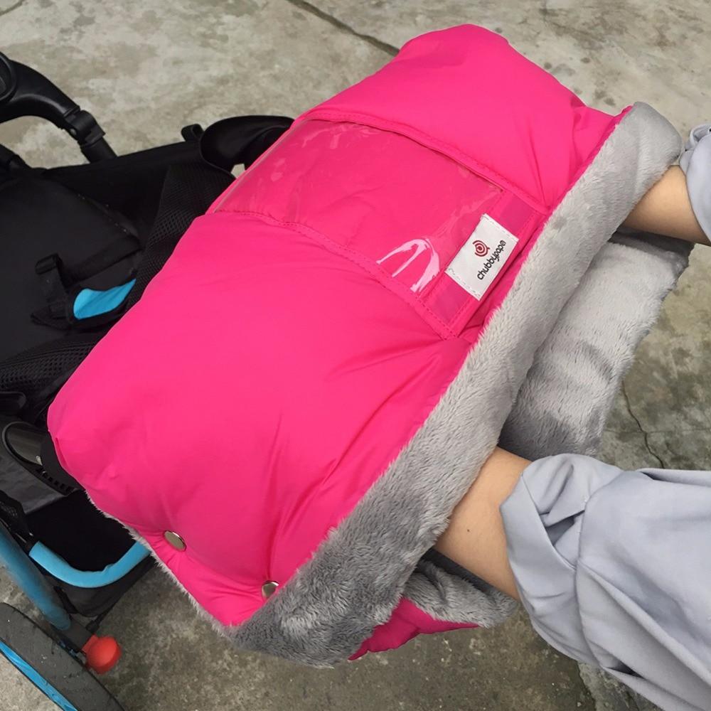 Bébé Poussette Gants Poussette Manchon Coupe-Vent Imperméable À L'eau Accessoires Pour Poussette Bébé Buggy Main Muff Enfants Panier Main Couverture