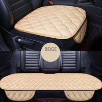 Front+Rear 5 Seats Plush car seat covers For Skoda Rapid Fabia Superb Octavia Yeti automobiles car accessories styling auto