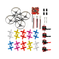 Mini 75mm Indoor RC Racing Drone Combo Set Bwhoop75 Frame Kit & Crazybee F3 ESC & 1S KV19000 Motor & 40mm 4 Paddle Propellers