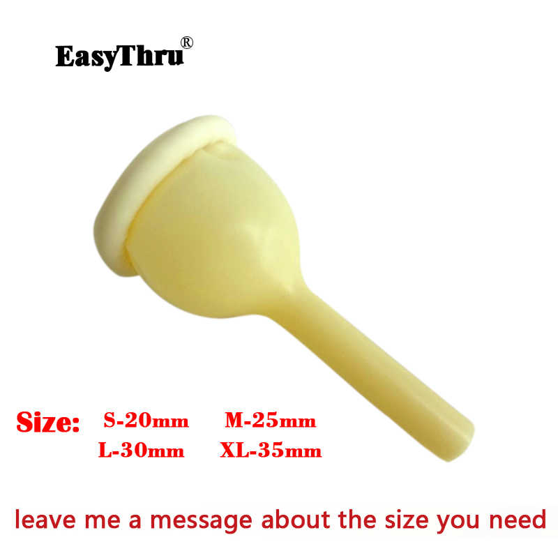 disposable Medical urine collector Latex urine bag male external catheter  single use urethral catheter from Malaysia FDA 20pcs