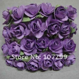 Free shipping new arrival 1440pcs lavender handmade mini paper free shipping new arrival 1440pcs lavender handmade mini paper flower wedding invitation card scrapbook mightylinksfo