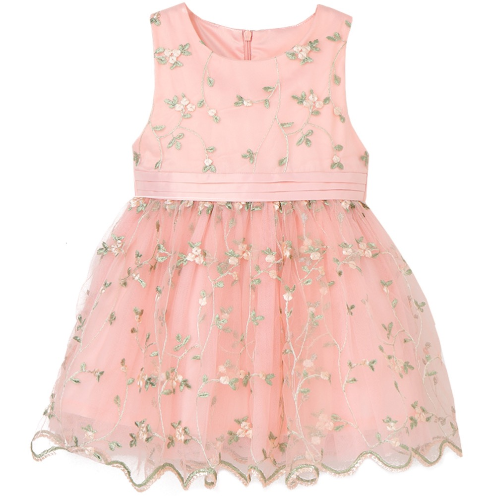 Children's Summer Princess Dresses Baby Girl Lace Dress Fashion Kids Birthday Party Clothes Cute Flower Girls Wedding Dresses new fashion embroidery flower big girls princess dress summer kids dresses for wedding and party baby girl lace dress cute bow
