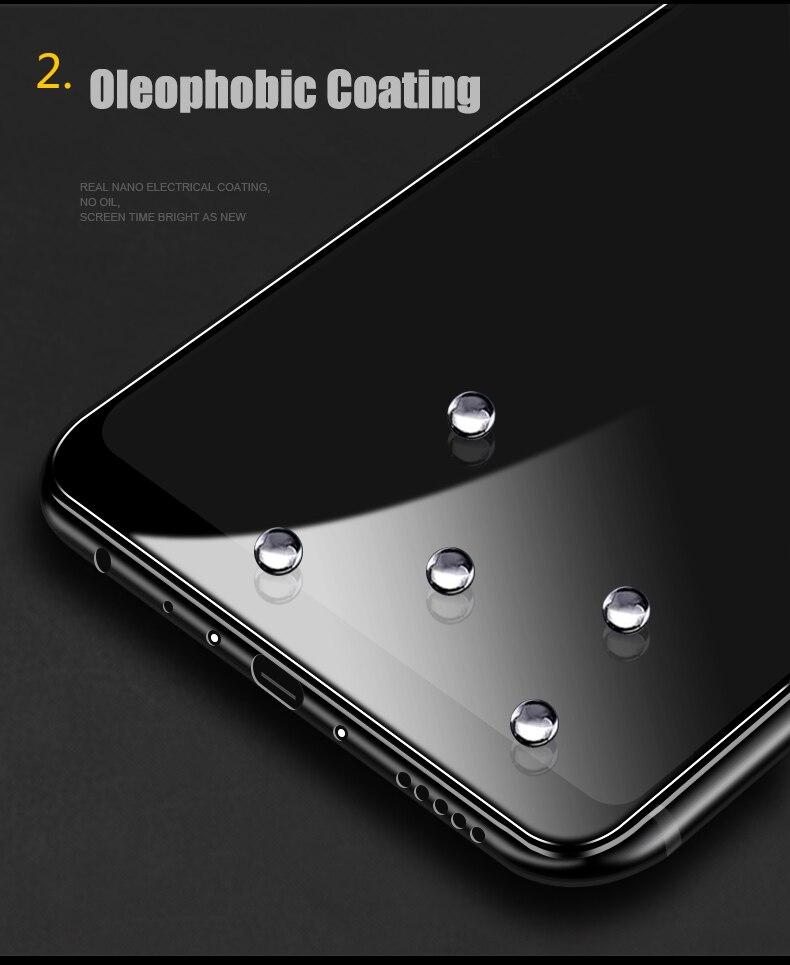 Image 3 - 2 шт./лот, полностью закаленное стекло для Oneplus 6 6T 7, Защитное стекло для экрана 2.5D, закаленное стекло для one plus 7 6 6 t, анти синее стекло-in Защитные стёкла и плёнки from Мобильные телефоны и телекоммуникации