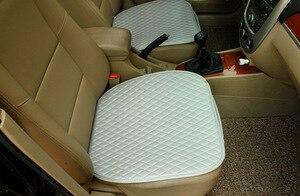 Image 2 - 1 conjunto de assento do carro capa de almofada estilo do carro acessórios do carro conjunto almofada esteira cadeira almofada para carro