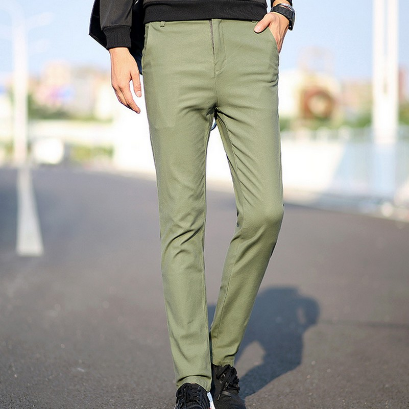 plus size straight elegant business dress pants autumn new solid