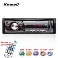 12v Red LED Screen 1Din Stereo FM Car Radio Car Audio Radio Cassette Recorder LCD Panel