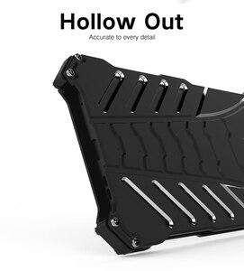 Image 5 - Heavy duty batman capa de proteção, armadura de metal de alumínio para nokia 7/nokia x5/nokia 7 plus anti capa para cobrir celular