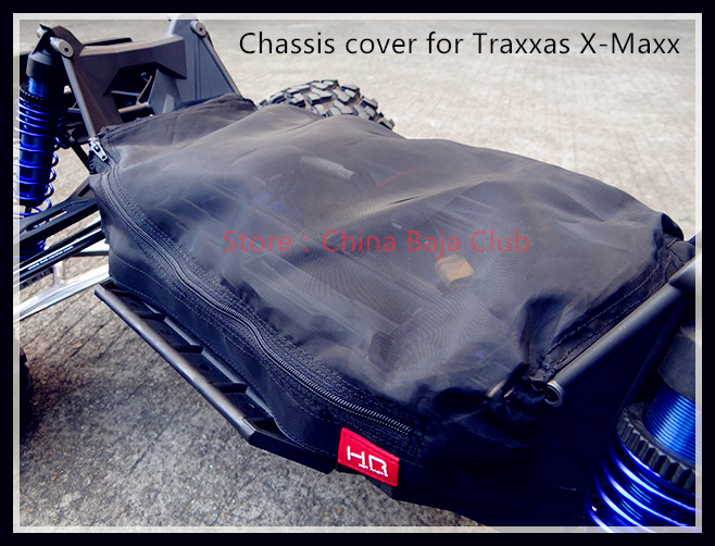 Chassis cover for the Traxxas X-Maxx 2pcs traxxas original 1 5 x maxx tires wheels tire tyre for 1 5 traxxas x maxx rc monster truck model 7772