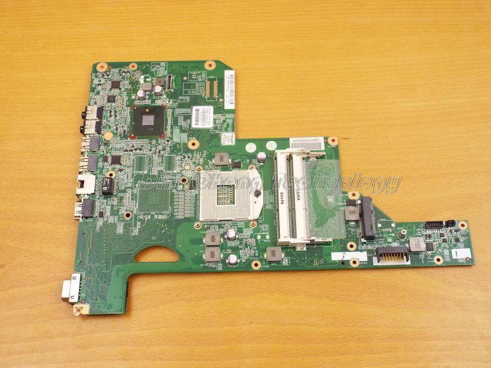For hp CQ62 G72 615849-001 Original laptop Motherboard for intel cpu with HM55 DDR3 integrated graphics card 100% tested fully for hp g62 g72 laptop motherboard with graphics 615848 001 01013y000 388 g