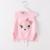 2017 Novo Estilo de Outono Menina Moda colete de malha para Crianças Meninas Camisola De Malha Colete Fox padrão roupa dos miúdos