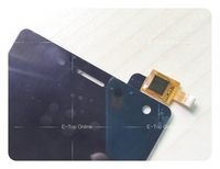 100% Tested Black LCD Screen for DEXP Ixion MS150 MS 150 LCD Display Touch Screen Digitizer Sensor Assembly