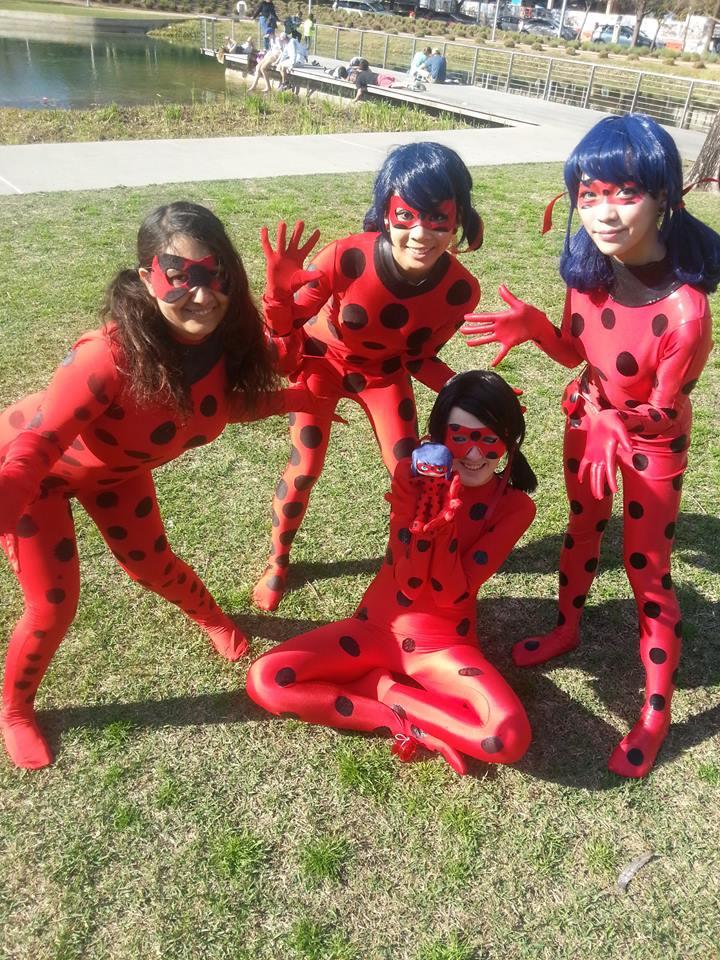 Zip Lycra Miraculous Ladybug Cosplay Costume Spot Skin Tight Suit Ladybug Marinette Spandex Zentai Suit with Eye Mask Kid